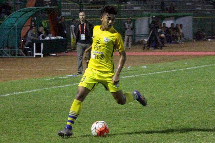 Penampilan Arsyad Yusgiantoro bersama Persegres Gresik United di kompetisi Liga 1.