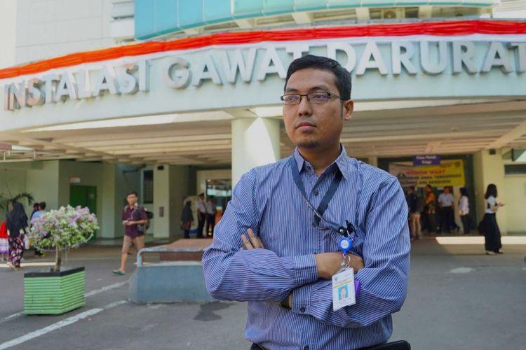 Dokter Hadiki Habib, kepala UGD RS Cipto Mangunkusumo.
