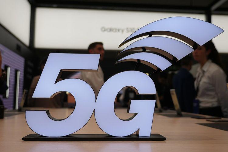 Ilustrasi logo 5G
