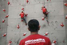 Eiger Sediakan Perlengkapan Tim Panjat Tebing Indonesia di Asian Games
