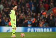 Messi Dicemooh Pendukung Barcelona di Bandara Liverpool