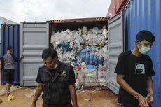 RI Kirim Balik 5 Kontainer Sampah Impor ke AS, Ini Kata Luhut