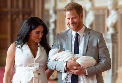 Rayakan Hari Ibu, Meghan Posting Foto Bayi Archie