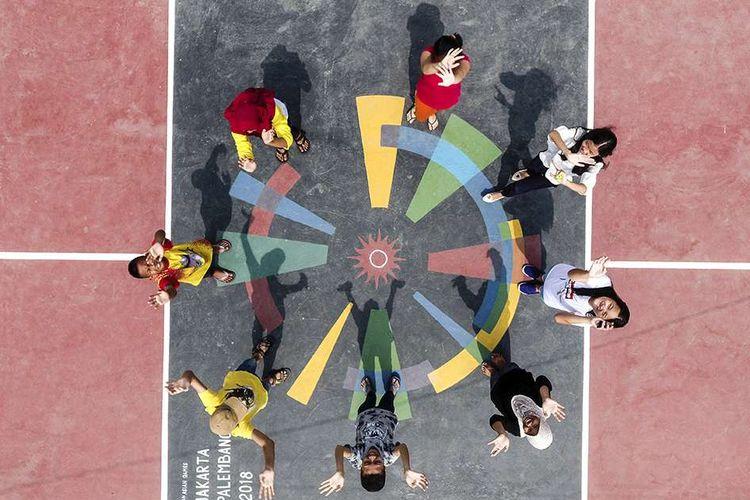 Palembang Bersolek Sambut Asian Games 2018