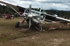 Pesawat Susi Air Kembali Tergelincir di Perbatasan Nunukan Akibat Angin Kencang