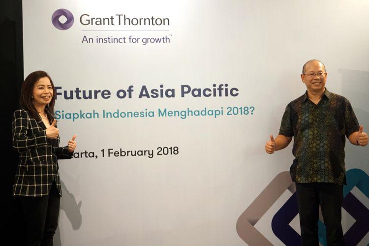 Survei Grant Thornton mengenai perekonomian di Asia Pasifik dan Indonesia di awal Februari 2018