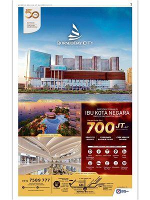 Foto: Iklan Borneo Bay City dalam harian Kompas