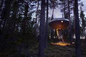 Berada di Tengah Hutan, Hotel Ini Berbentuk UFO
