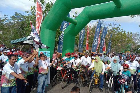 Gowes Nusantara di Bima Usung Pesan Perdamaian