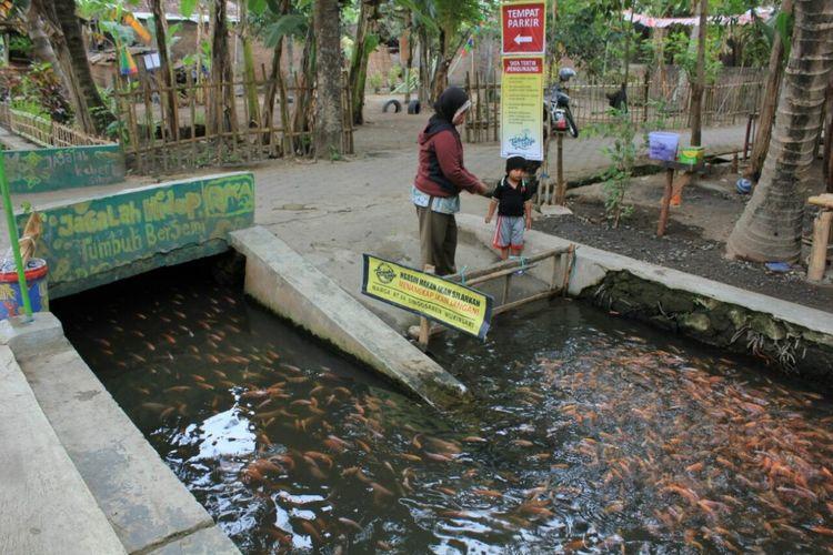 Irigasi yang Berada di dusun Singosaren, Imogiri, Bantul, Yogyakarta