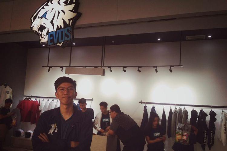 Yansen Wijaya, Merchandise Manager EVOS