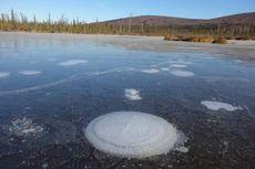 NASA: Gelembung Metana di Danau Arktik adalah Kabar Buruk