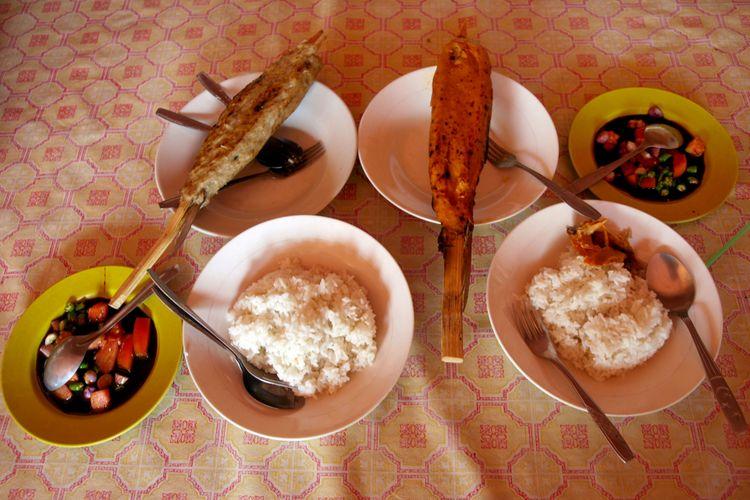 Sate bandeng khas Banten