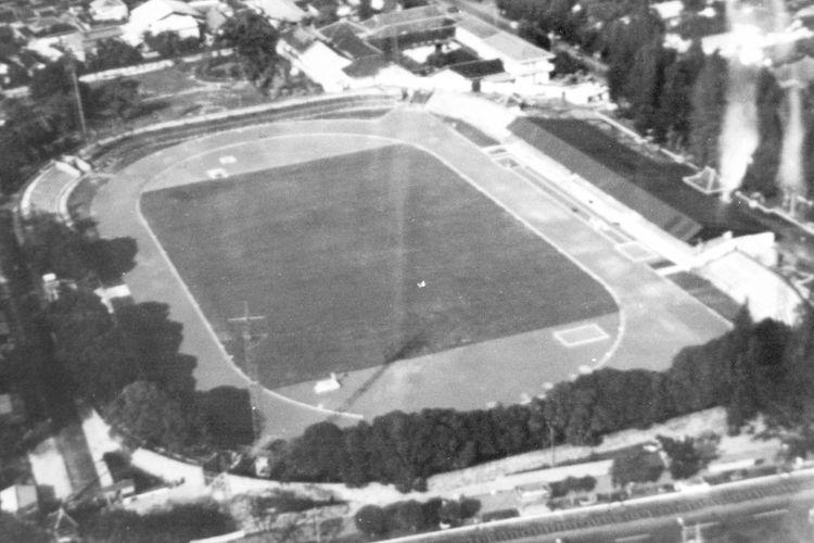 Stadion Sriwedari dari udara
