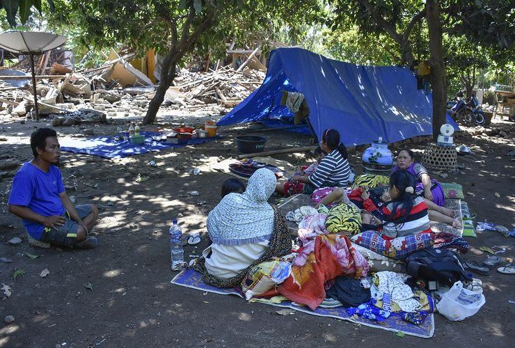 7 Fakta Terbaru Rentetan Gempa Lombok, dari 101 Gempa Susulan hingga Warga Tidur di Trotoar
