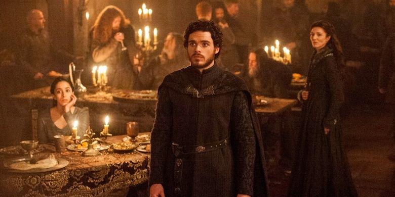 Salah satu adegan dalam episode Game of Thrones, The Rains of Castamere (2013)