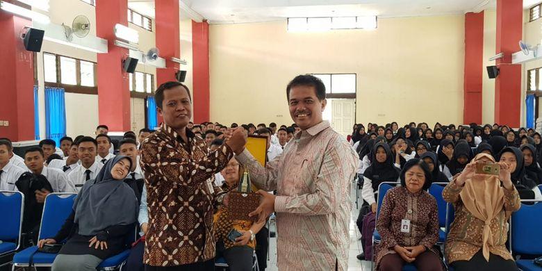 Direktur Jenderal Hortikultura Kementerian Pertanian (Kementan) Suwandi saat menjadi pembicara dalam kuliah umum di Politeknik Pembangunan Pertanian (Polbangtan) Yogyakarta-Magelang, Selasa (11/12/2018)