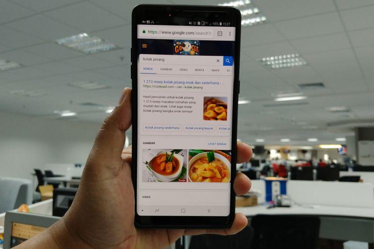 Ilustrasi Googling di kala Ramadan.