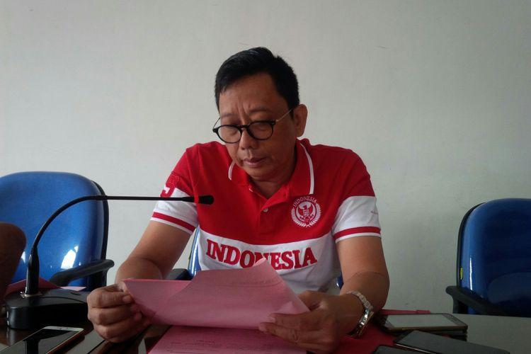Kepala Kejari Surakarta Teguh Subroto di Solo, Jawa Tengah, Jumat (14/9/2018).