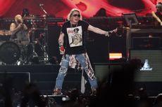 Guns N' Roses Tampil di Jakarta, Axl Rose Ganti Kostum 7 Kali