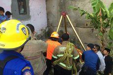 Berontak, Sapi Kurban di Bandung Masuk ke Sumur Sedalam 20 Meter