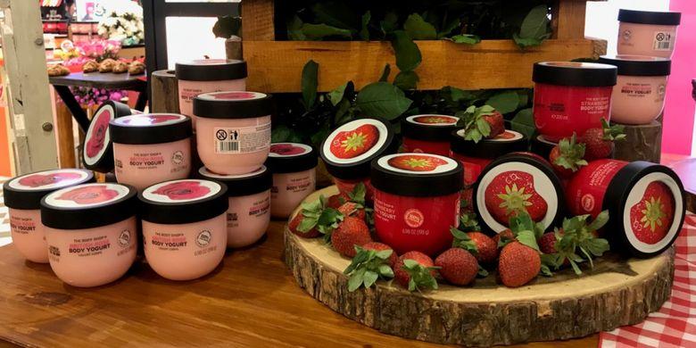 Body yogurt, pelembab tubuh terbaru dari Body Shop.