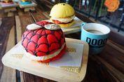 Unik! Doodle Burger Sajikan Burger dengan Karakter Tokoh Kartun