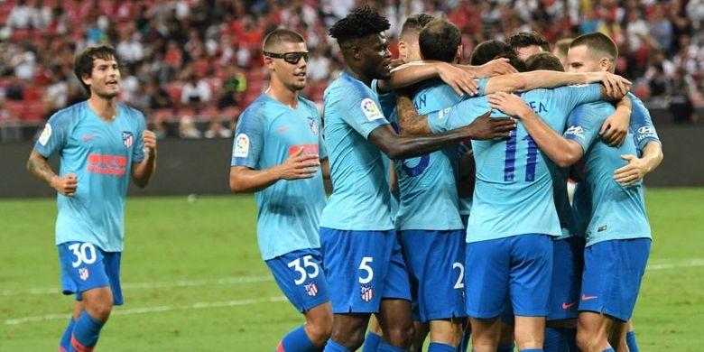 Hasil ICC, Atletico Madrid Kalahkan Arsenal Lewat Adu Penalti