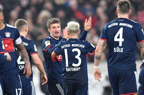 Hasil Liga Jerman, Gap 11 Angka antara Bayern Muenchen dan Pesaing