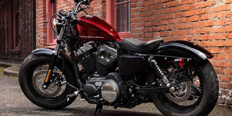 Harley Davidson Forty-Eight(AutoEmag)