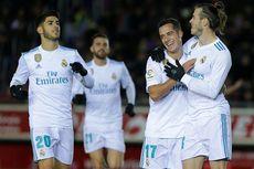Hasil Copa del Rey, Real Madrid Menang Telak