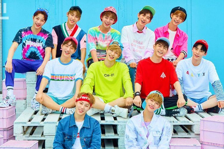 Boyband Wanna One yang dibentuk dari program Produce 101 Season 2.