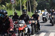Rombongan Biker Artis Turing Amal di Lombok