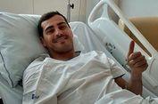 Kena Serangan Jantung, Masa Depan Casillas di Sepak Bola Belum Jelas