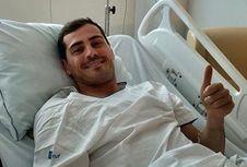 Usai Terkena Serangan Jantung, Casillas Gabung Staf Pelatih Porto