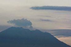 Gunung Agung Kembali Meletus, Abu Berwarna Kelabu Terlihat di Sanur