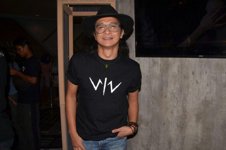 Andi /rif saat menghadiri konferensi pers film Wiro Sableng di Senayan City, Jakarta Selatan, Rabu (16/8/2017)