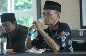 Buya Syafii Maarif: Hindari Kampanye Politik di Forum Agama