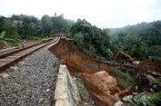 Jalur Kereta Api Bogor-Sukabumi Sudah Bisa Dilalui Pasca-longsor