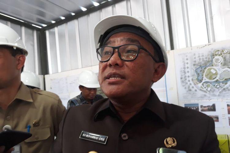 Wali Kota Depok Mohammad Idris saat ditemui di Jalan Boulevard, Depok, Senin (24/9/2018).