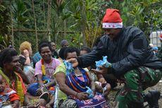 Kado Natal untuk Warga Banti Papua yang Trauma karena Disandera KKB