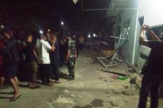 Diamuk Massa, Kaca Pos TNI AL di Lhokseumawe Pecah