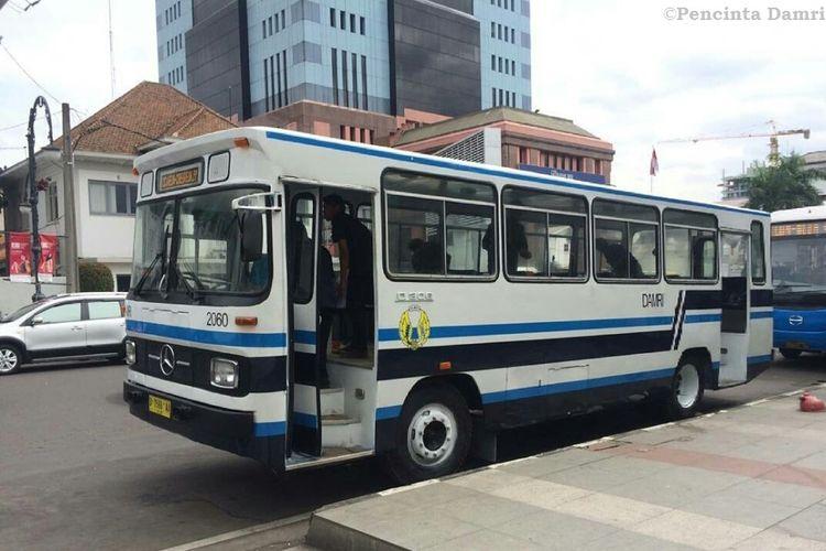 Mercedes-Benz OH-306, salah satu bus yang paling banyak digunakan untu armada bus kota pada masa lalu.