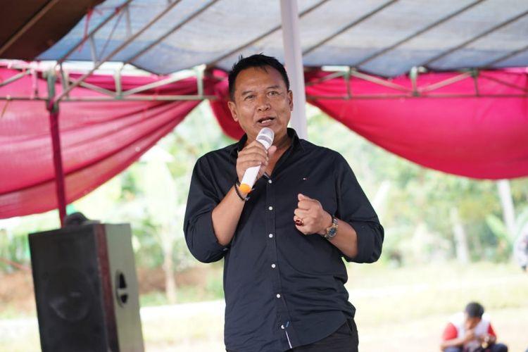 Calon Gubernur Jawa Barat nomor urut 2 Tubagus Hasanudin.