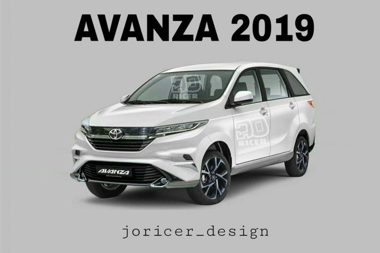 Render Avanza milik @joricer_design yang dibagikan pada akun miliknya di akun picbear.online.