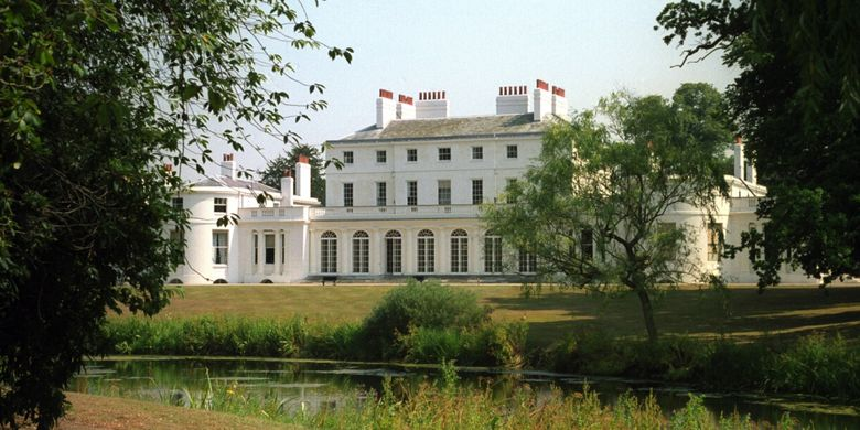 Frogmore house di Windsor Castle, London, Inggris.