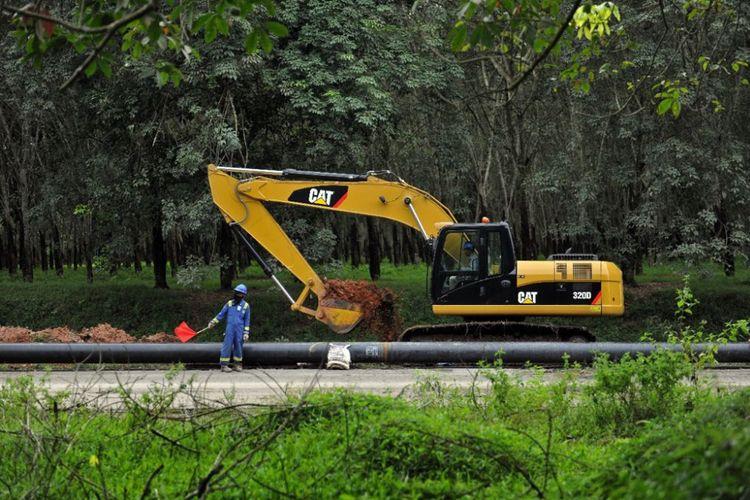 Pembangunan jaringan gas bumi PGN untuk memperluas jangkauan distribusi ke seluruh wilayah Indonesia