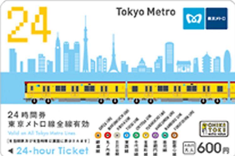 Tiket Tokyo Metro 24-Hour