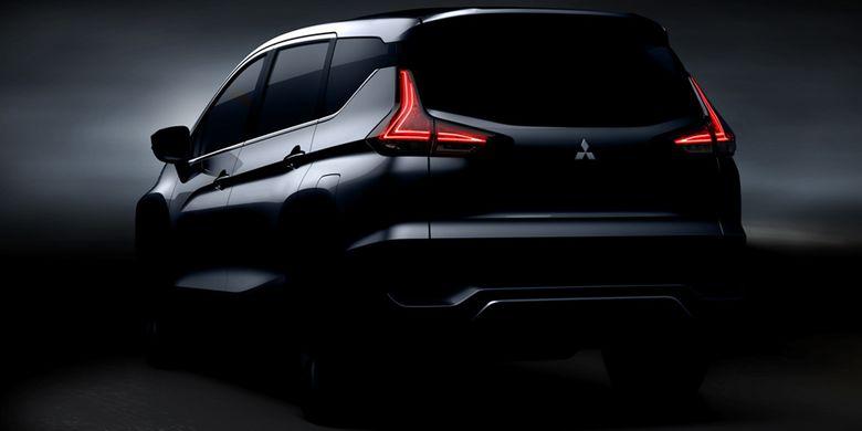 Tampilan belakang Mitsubishi Expander