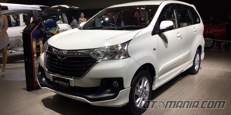 Toyota Avanza Limited Editon, cuma tersedia 150 unit.